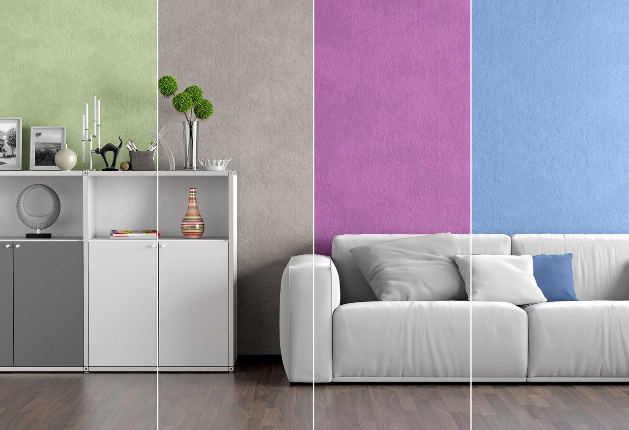 Farben an der Wand - für jede Stimmung den richtigen Ton - Jusztusz ...